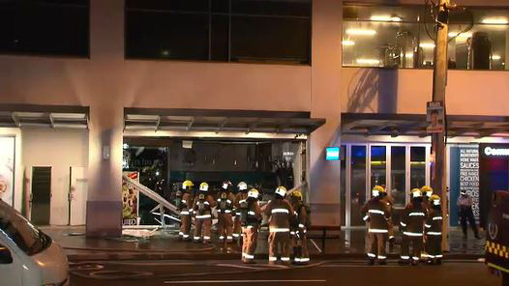 Explosion at Maroubra cafe deemed suspicious