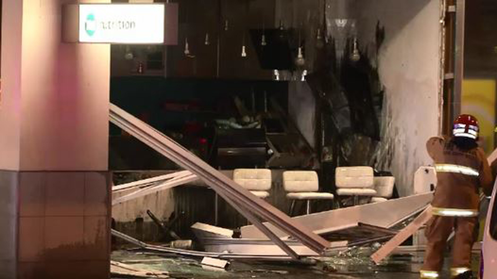 Firefighters managed to extinguish the blaze. (9NEWS)