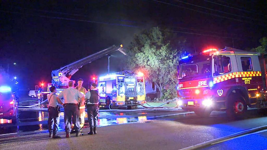 Police seek witnesses after suspicious fire tears through house in Sydney