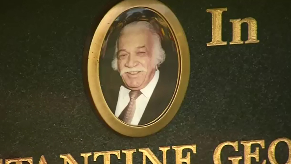 Con Polites died in 2001. (9NEWS)