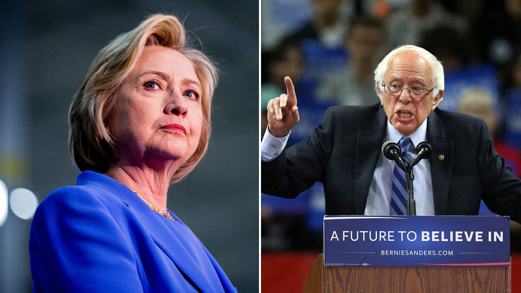 Hillary Clinton projected to win Kentucky Democratic primary, rival Bernie Sanders claims Oregon
