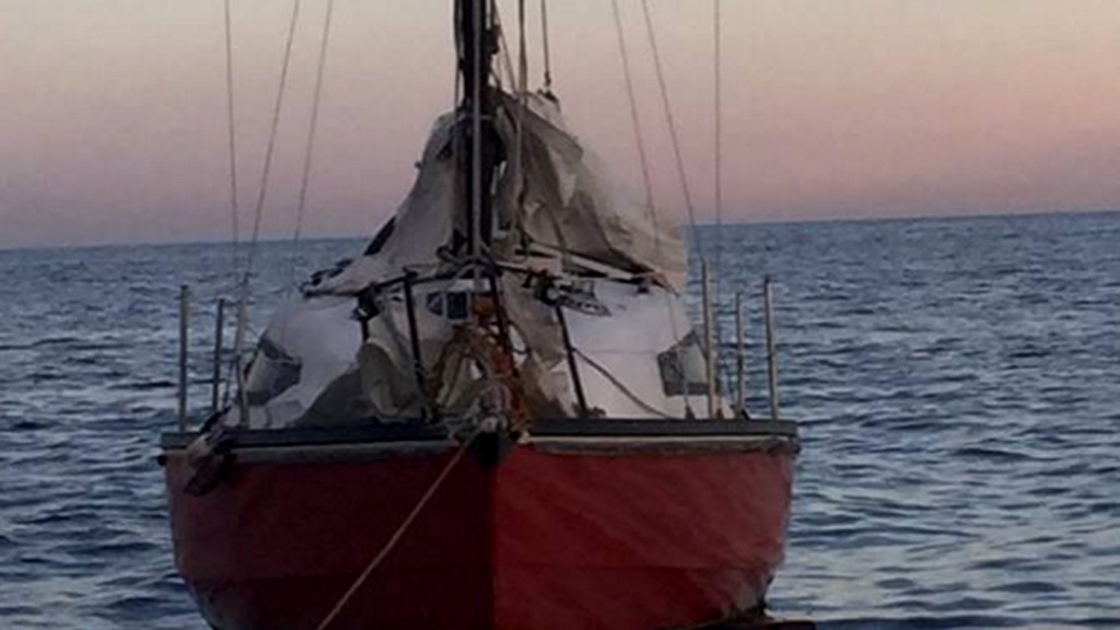 Missing Tasmanian yachtsman located safe and well after vessel found abandoned off NSW Coast on Tuesday