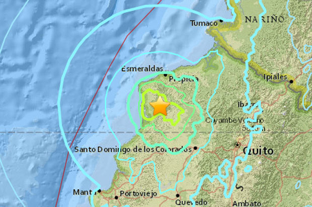 Powerful quake strikes Ecuador, no tsunami threat for Australia