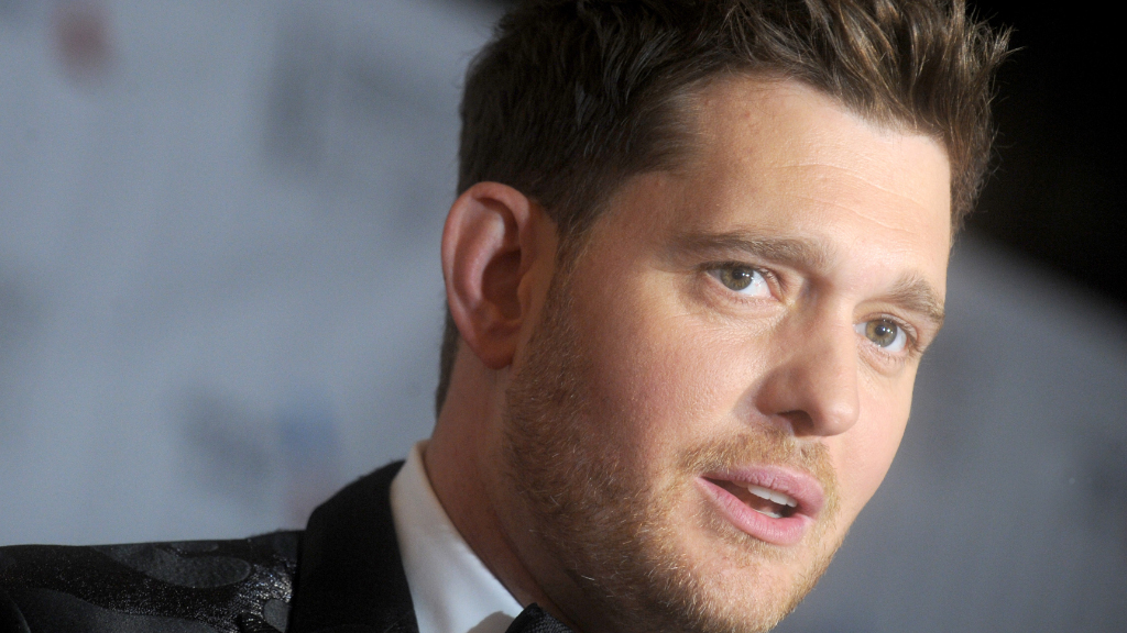 Michael Bublé 'won't sing for a while' due to vocal cord surgery