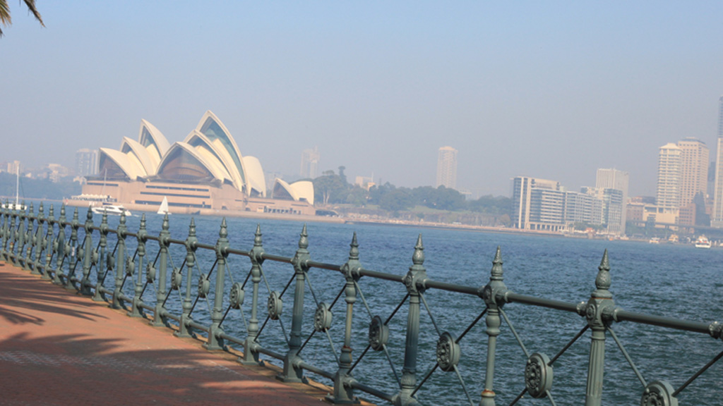 This is not the first time this month Sydney has been shrouded in smoke - on May 7 thick smoke covered the city. (AAP)