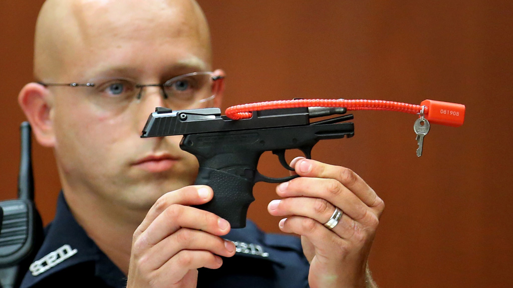 Gun used to kill Trayvon Martin sells at private auction