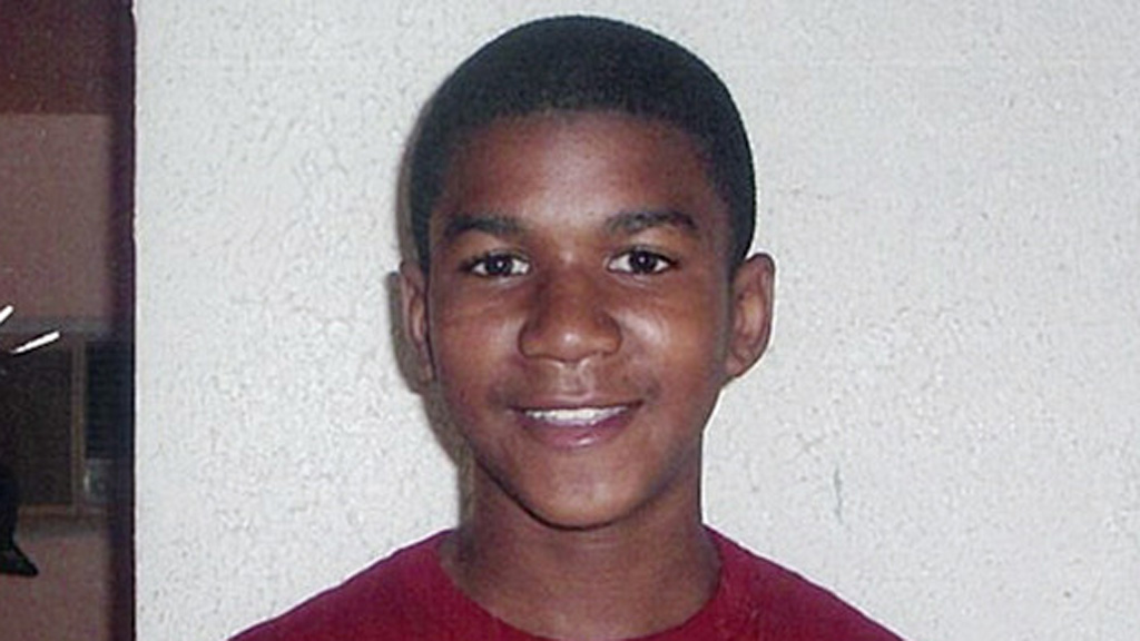 Trayvon was 17-years-old and unarmed when he was killed. (AAP)