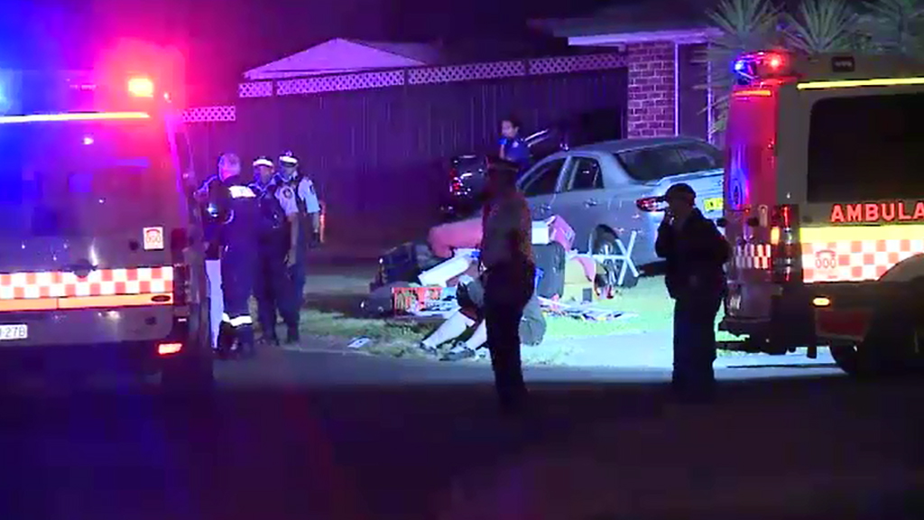 A man was found shot in a driveway in Colyton. (9NEWS)