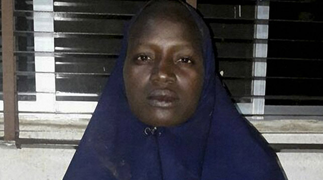 Ms Luka was a partor's daughter who was at the Chibok school when hundreds of girls were abducted. (AFP)