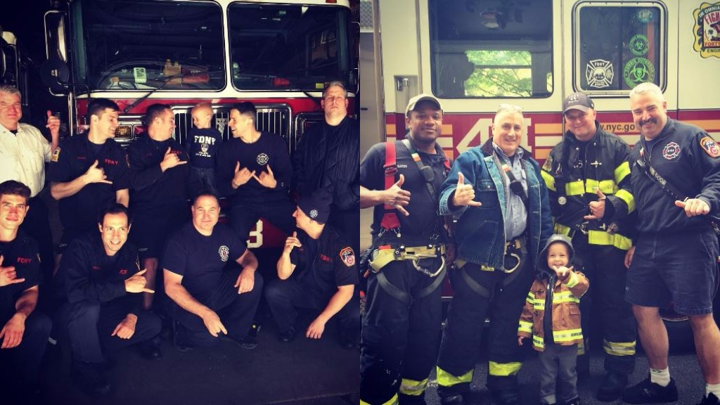 Boy with cancer to become honorary firefighter