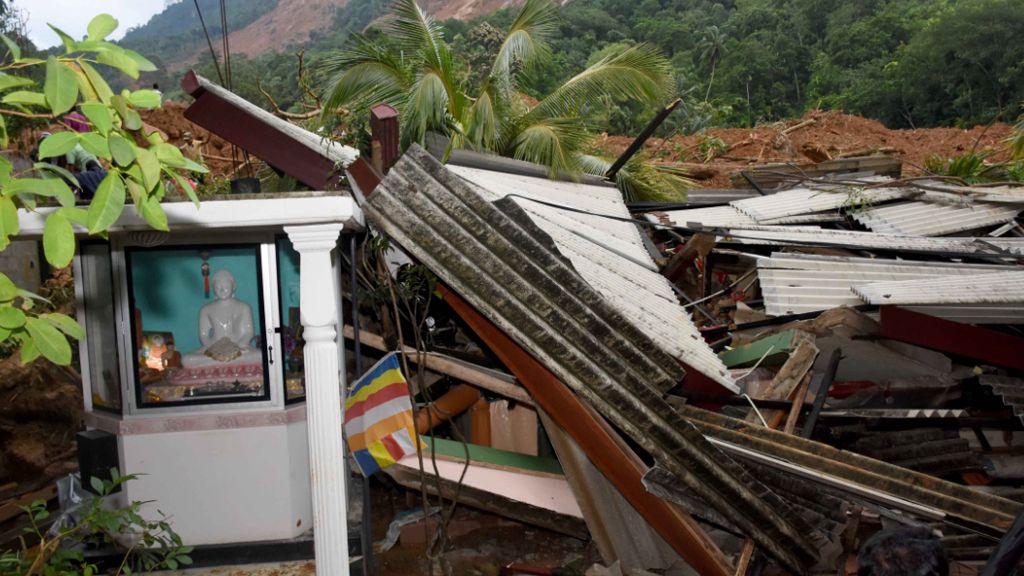 Thousands of homes have been affected. (AFP)