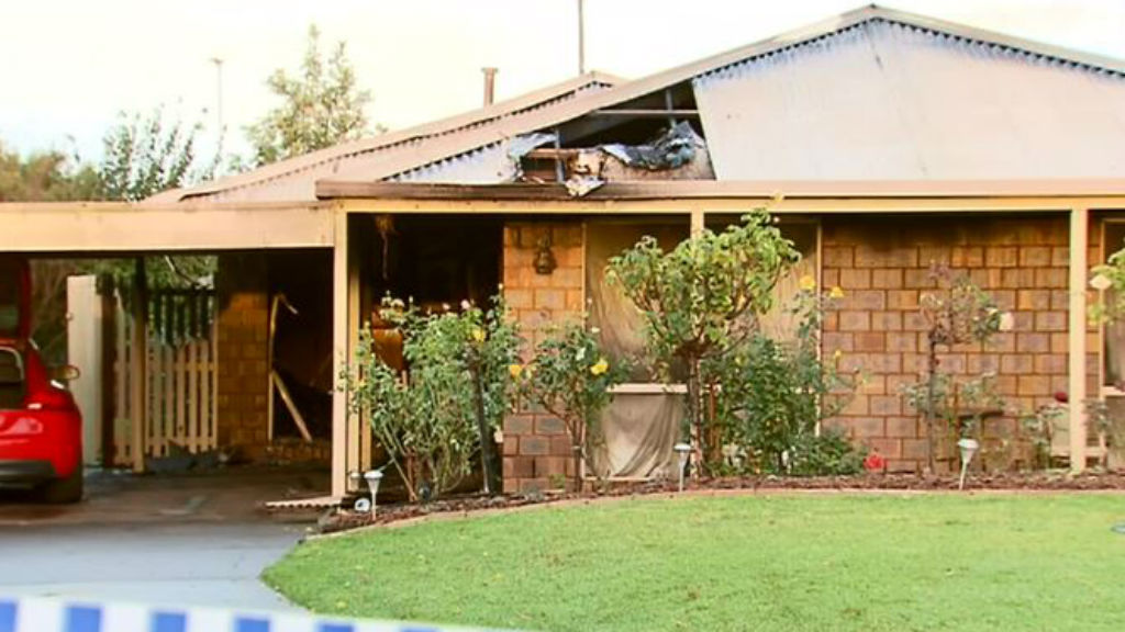 Man in custody after allegedly assaulting neighbour and torching his house on Bellarine Peninsula