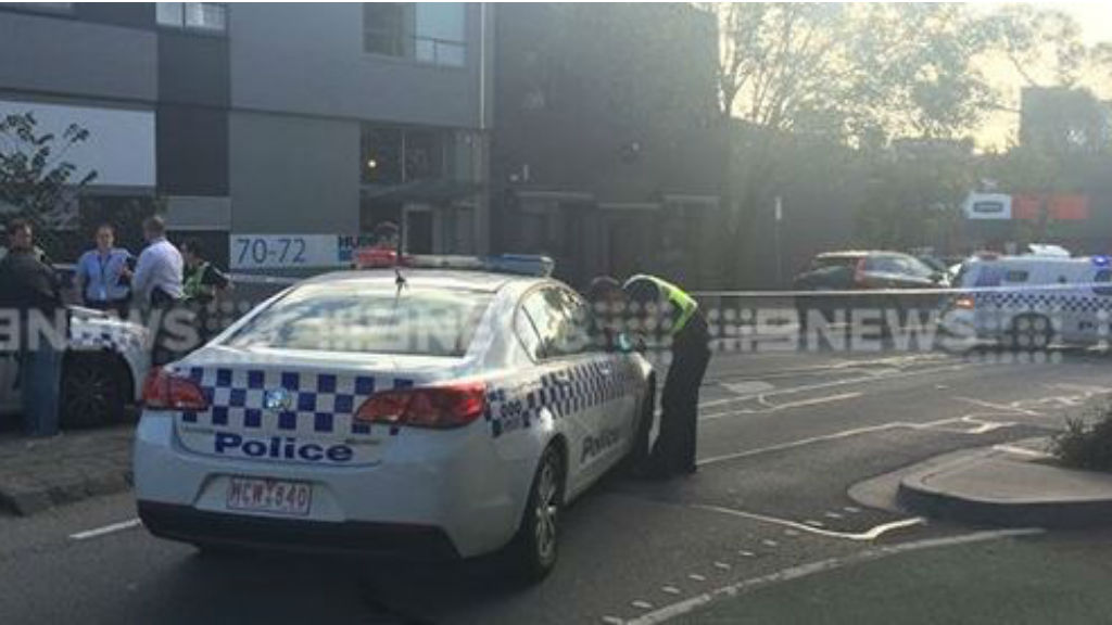 Police are investigating a suspected drive-by shooting outside Kittens this afternoon. (9NEWS)