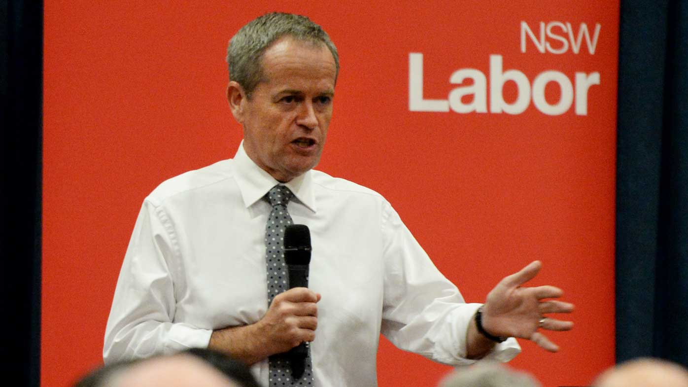 Bill Shorten. (AAP)