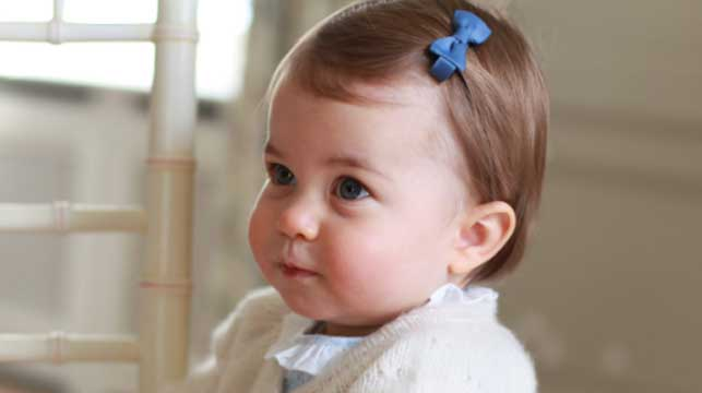 Australia's top baby names get the royal treatment