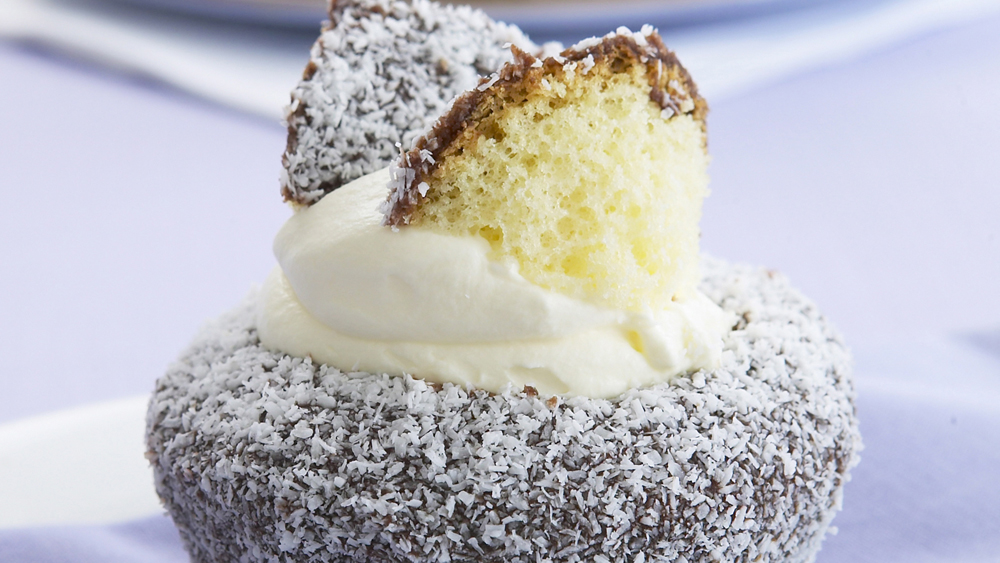 lamington butterfly cake