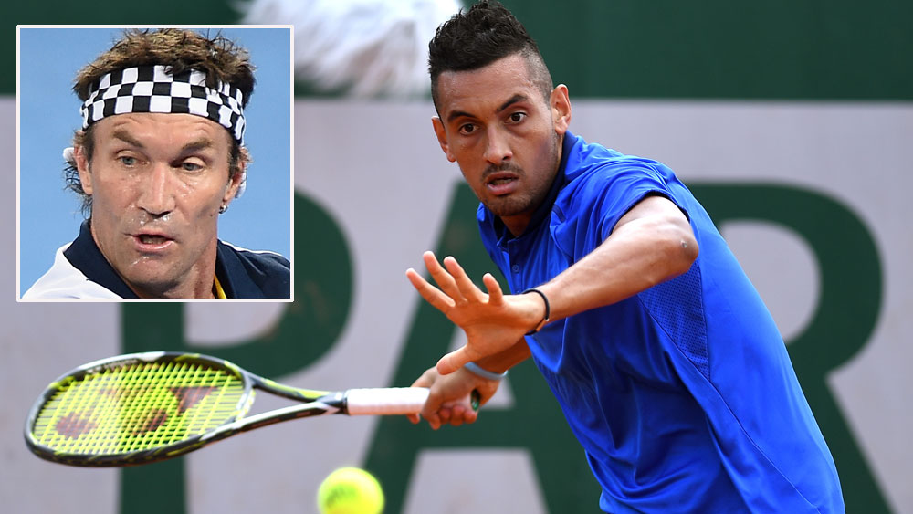 Pat Cash (inset) is in no doubt that Nick Kyrgios should represent Austraia at the Olympics. (Getty-file)