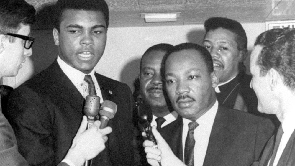 'I am America': Muhammad Ali's fight for civil rights