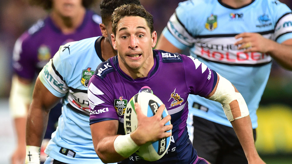 Billy Slater. (AAP)