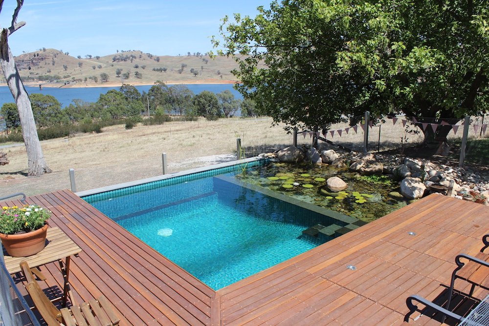 Natural pools are making a come back 9homes for Plunge pool design uk