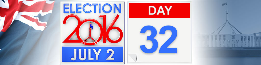 Day 32 of the federal election campaign