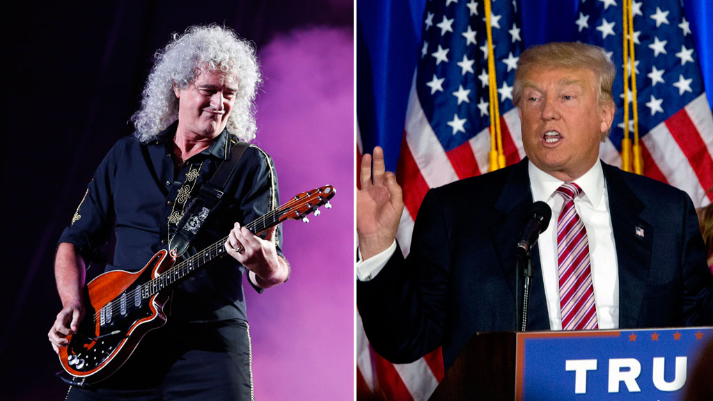 Queen guitarist promises to stop Donald Trump from using 'We Are The Champions'