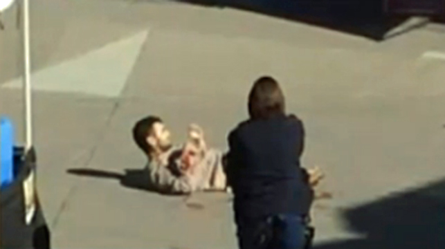 """Knife-wielding man at Sydney shopping centre appeared """"crazed, not all there"""""""