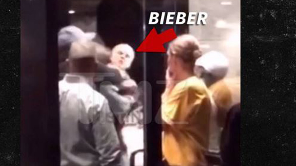 Justin Bieber reassures fans his 'pretty' face is fine after Cleveland brawl