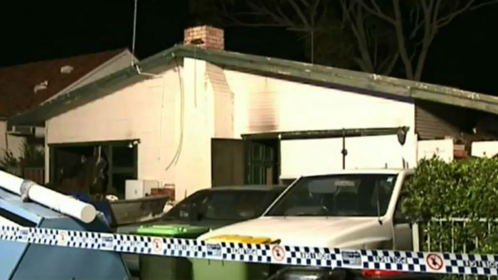 Elderly woman in critical condition after fire in Sydney's south-west