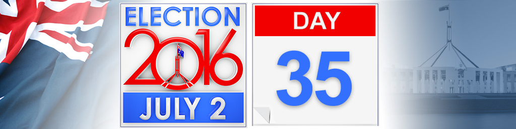 Day 35 of the federal election campaign
