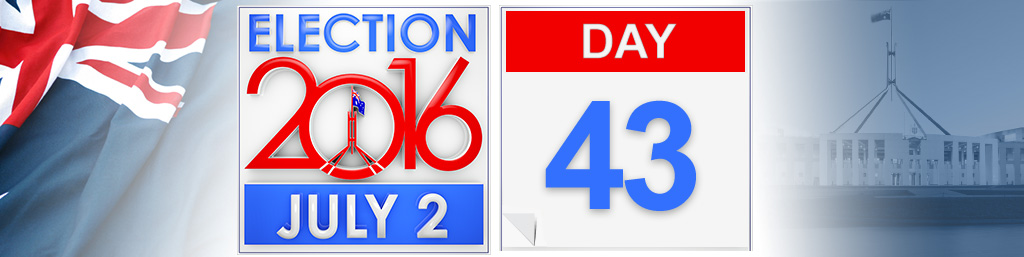 Day 43 of the federal election campaign