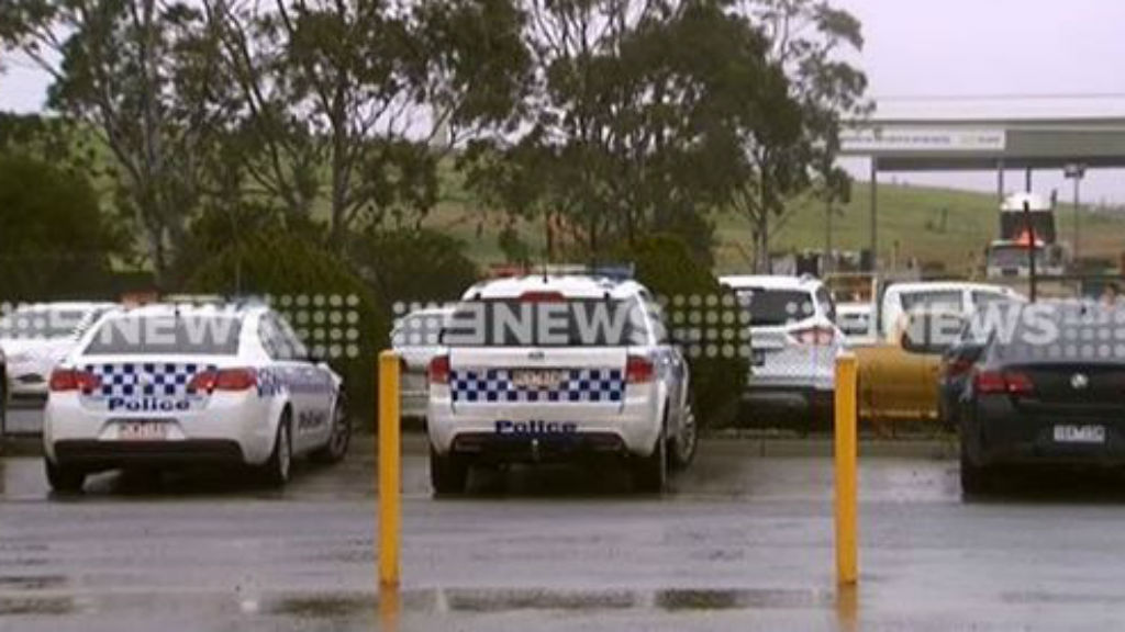 Police hunt for human remains in rubbish tip in Melbourne's south-east