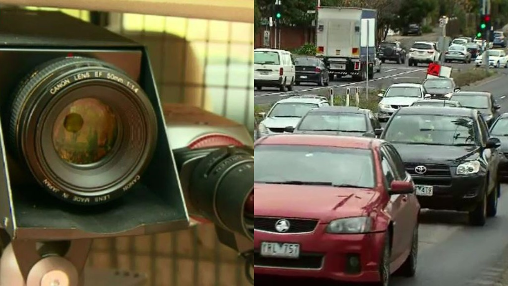 The top mobile speed camera hotspots have been revealed. (9NEWS)