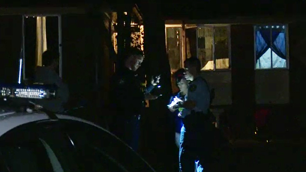 Police were called to the Doonside home. (9NEWS)
