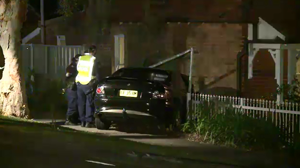Emergency services were called to the Rockdale home. (9NEWS)