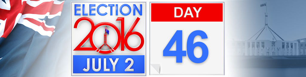 Day 46 of the federal election campaign