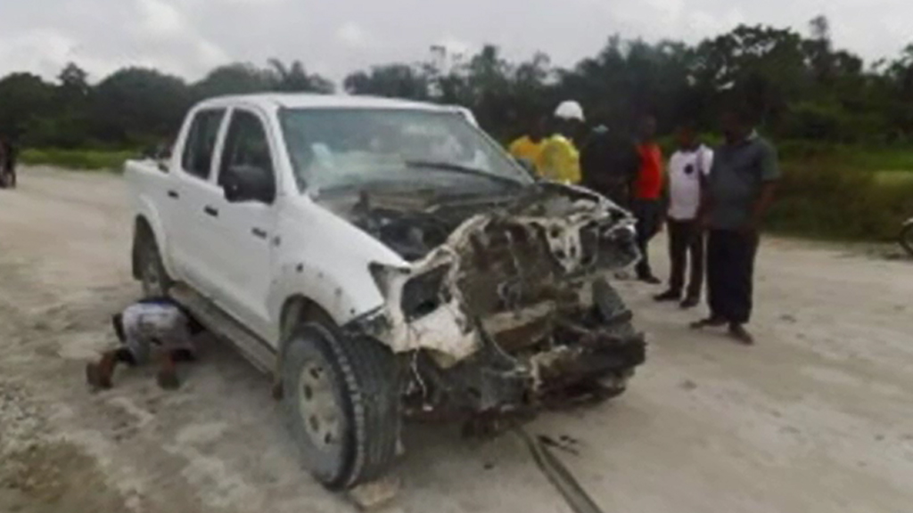 Gunmen attacked a convoy, kidnapping some mining workers.