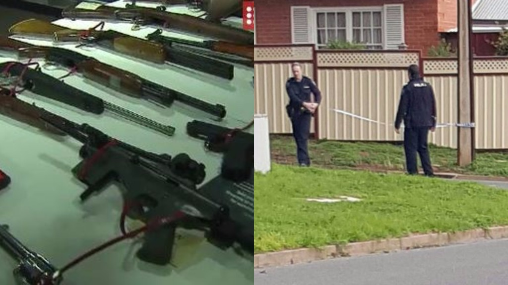 Man arrested after shots fired at Adelaide home on two occasions