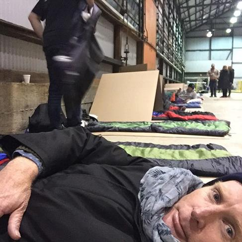 Winter chill bites bosses at annual St Vinnies CEO Sleepout