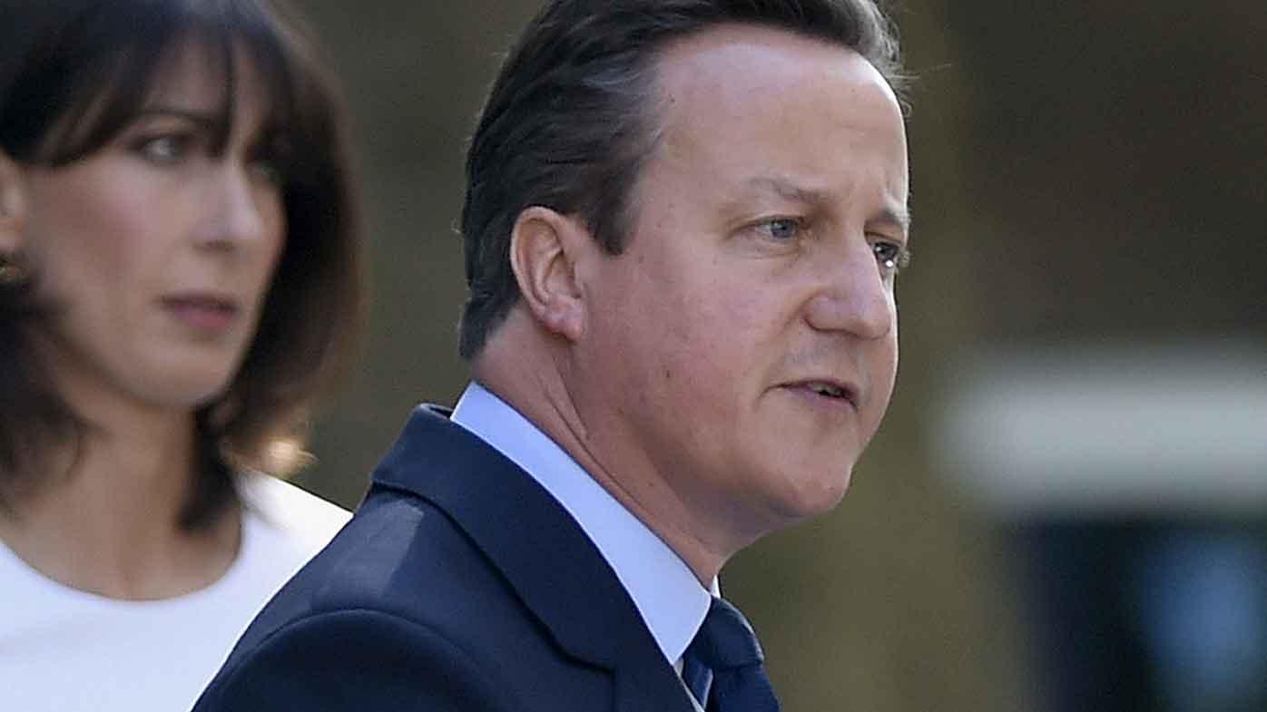 David Cameron announces his resignation. (PA Wire)