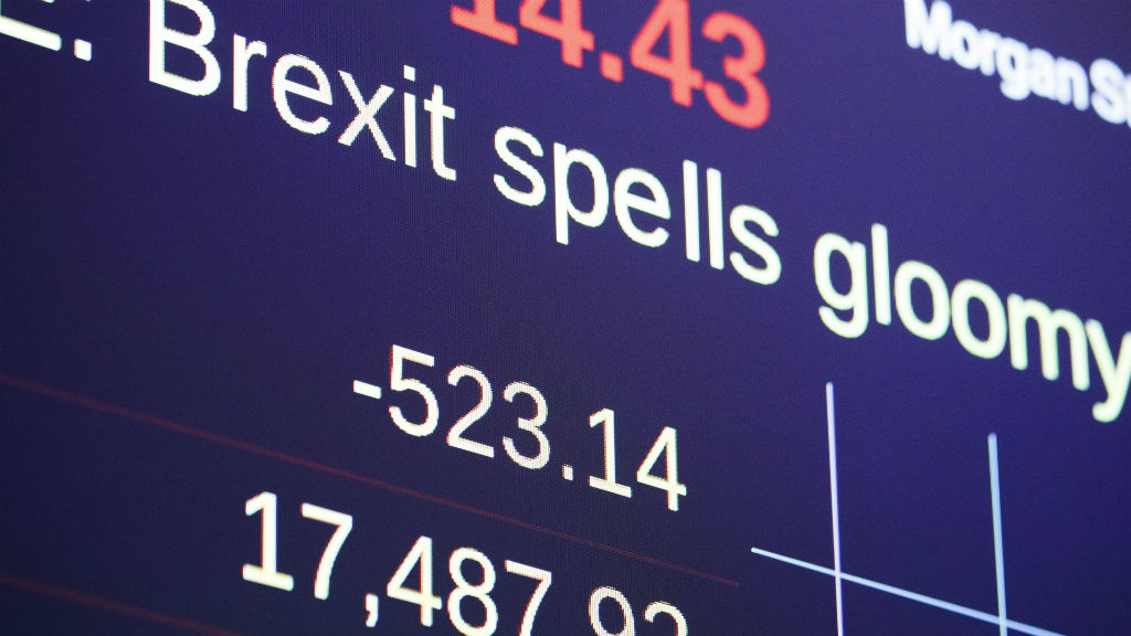 US stocks plunge in response to Brexit