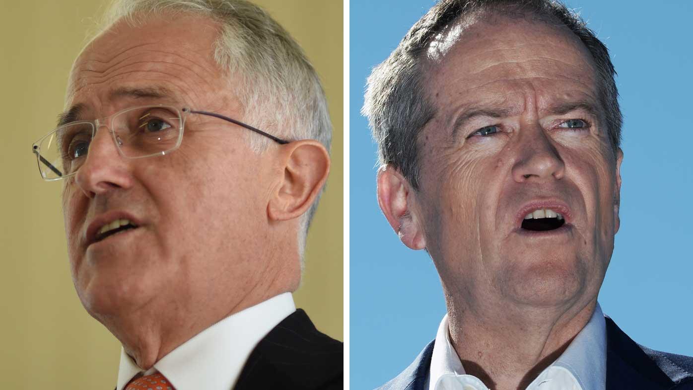 Malcolm Turnbull and Bill Shorten. (AAP)