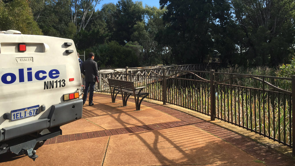 Police treating death of man found in park in Perth's north as suspected murder