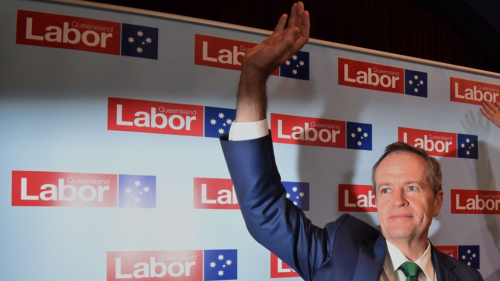 Shorten tries to steal Turnbull's moment