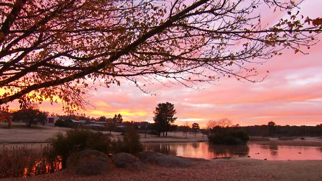 Sunrise in Stanthorpe. (9NEWS)