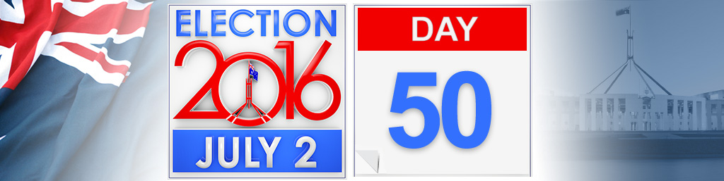 Day 50 of the federal election campaign