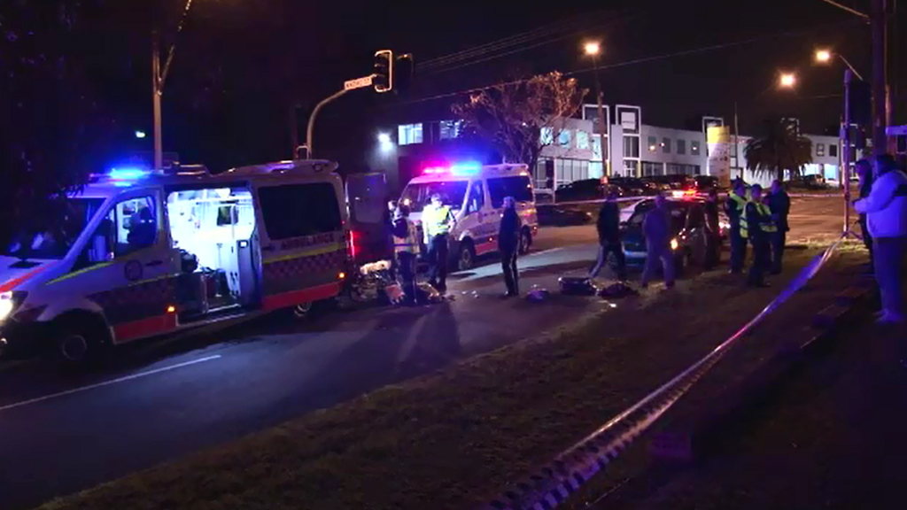 The boy was hit on a Greenacre road. (9NEWS)
