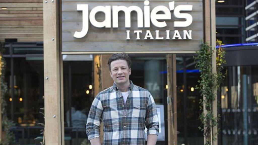 Jamie's Italian group in receivership