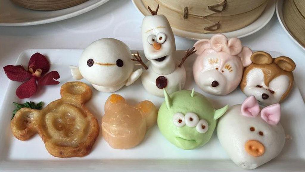 Disneyland Shanghai Serve Super Cute Disney Character Dim