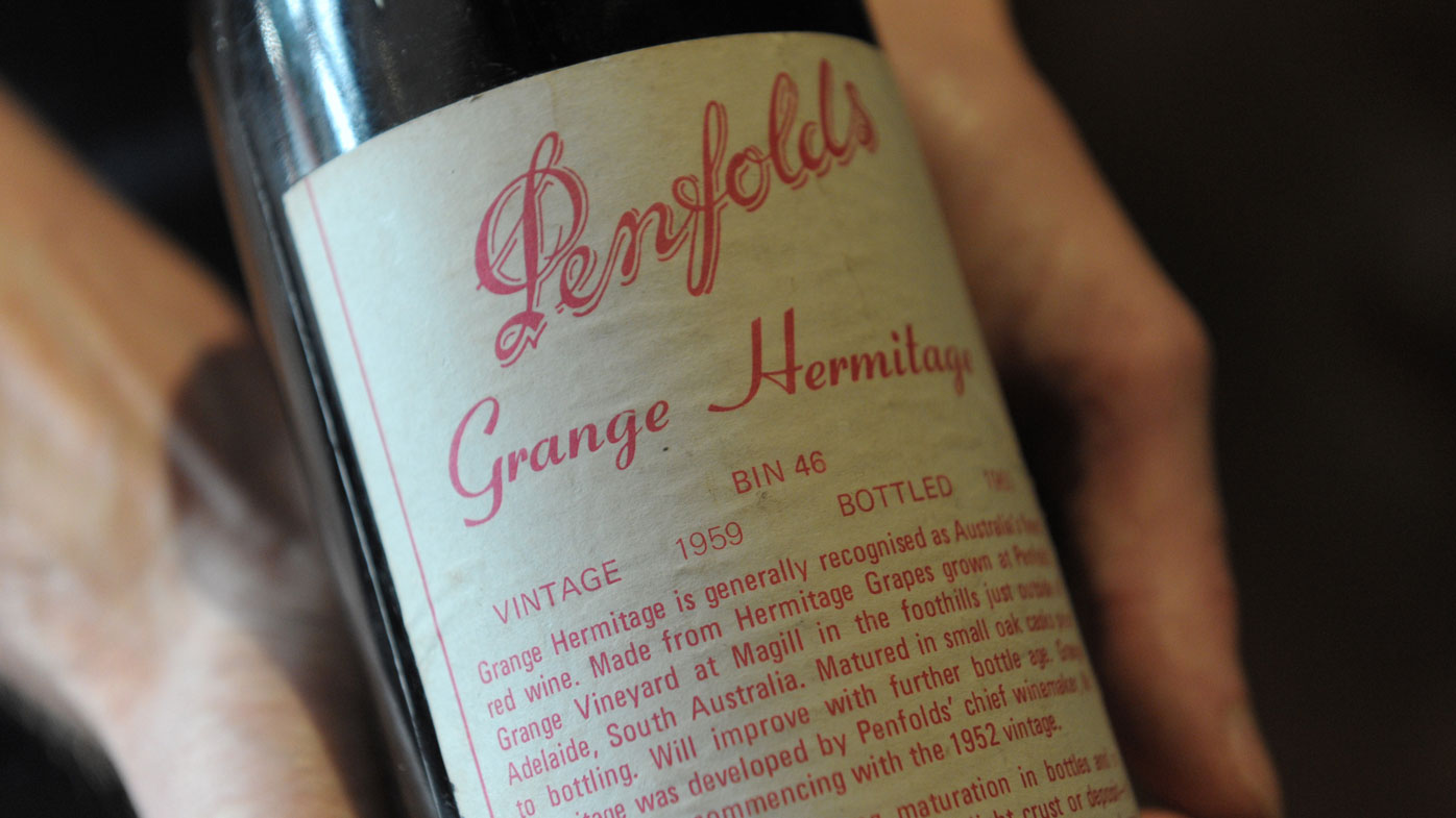 Wine collection worth $5m missing from NSW